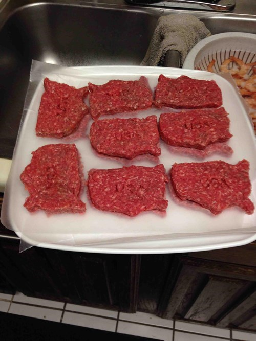 burgers meat - 8035449344