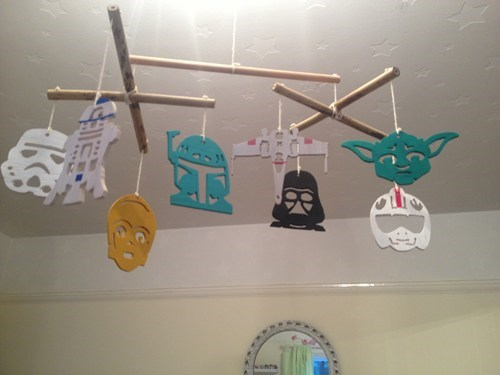 baby,star wars,mobile