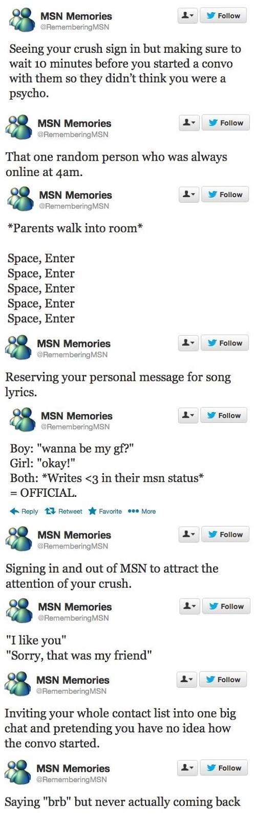 twitter,nostalgia,msnnow
