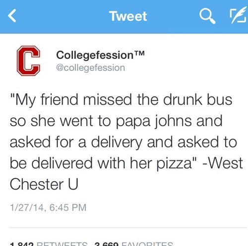 pizza drunk funny bus delivery - 8035817472