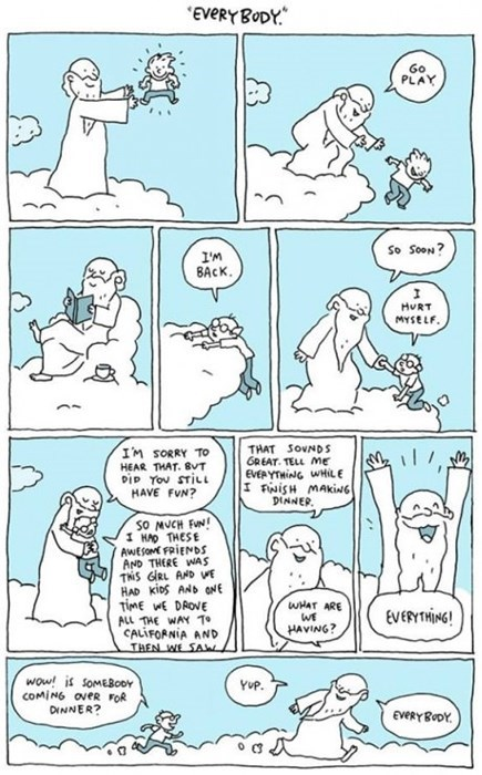 heaven life religion sad but true web comics - 8035917056