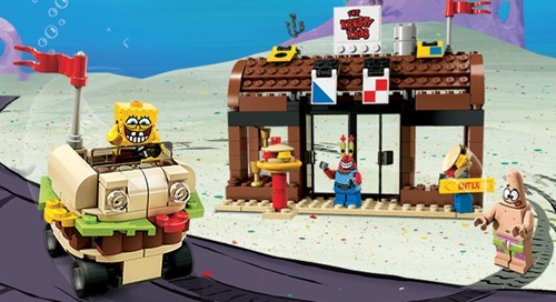 lego,for sale,cartoons,SpongeBob SquarePants