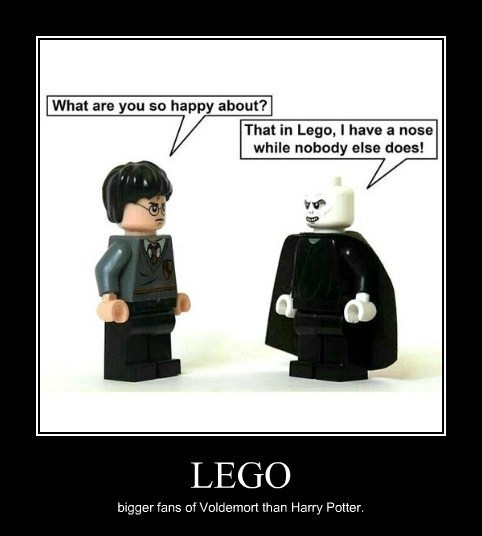 noses Harry Potter voldemort lego funny - 8036149760