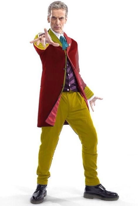 costume classic who 12th Doctor 6th doctor - 8036232960