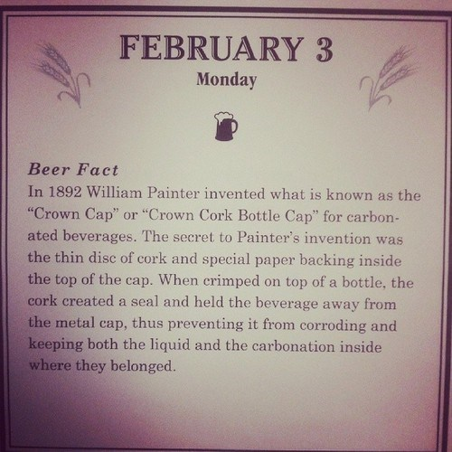 beer carbonation facts bottle cap - 8036259840