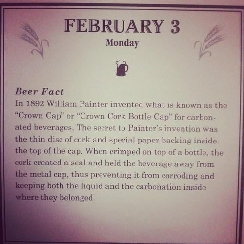 beer carbonation facts bottle cap - 8036259840