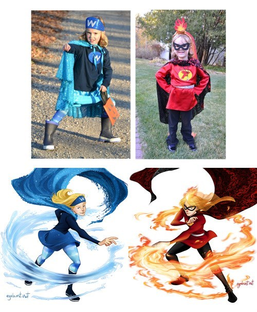 art,kids,girls,superheroes,concept art