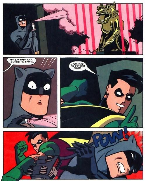 catman robin off the page batman - 8036338944