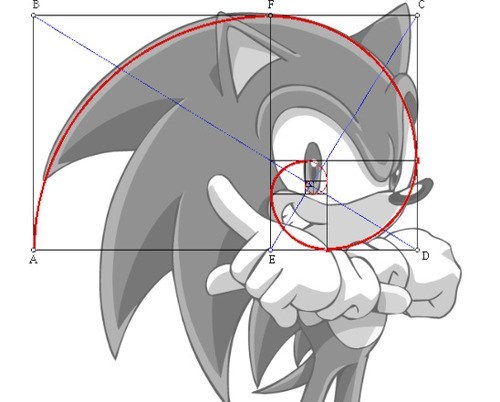 gotta go fast,sonic,golden ratio