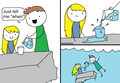 water,web comics,when