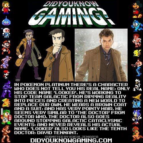 Pokémon,did you know gaming,10th doctor,doctor who