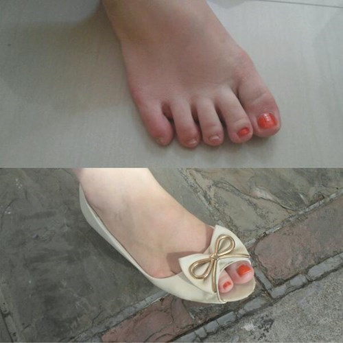 shoes nail polish poorly dressed - 8037945344
