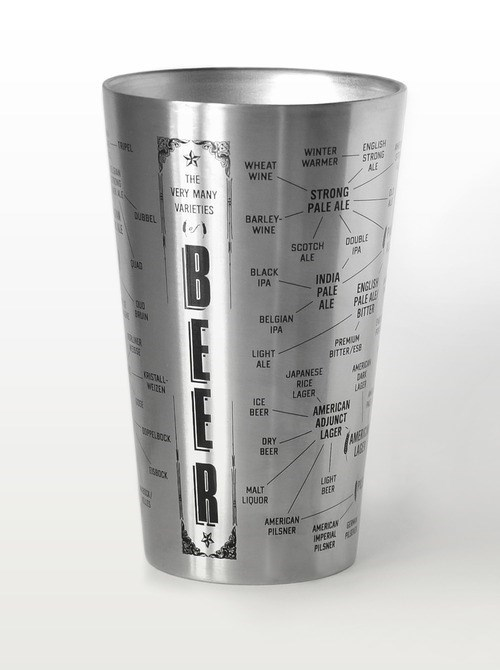 beer learning pint glass funny - 8038016256