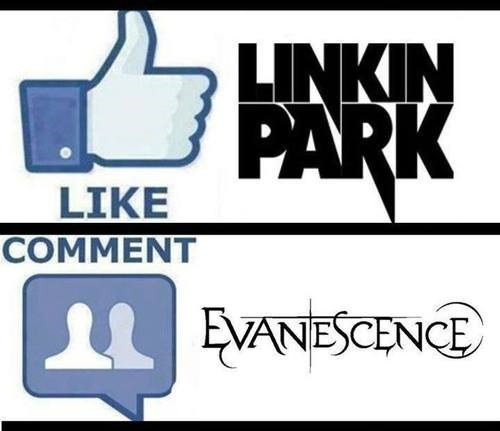 Music Evanescence annoying like my status like comment subscribe please make it stop linkin park