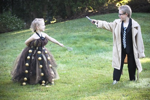 cosplay kids 10th doctor daleks - 8038112512