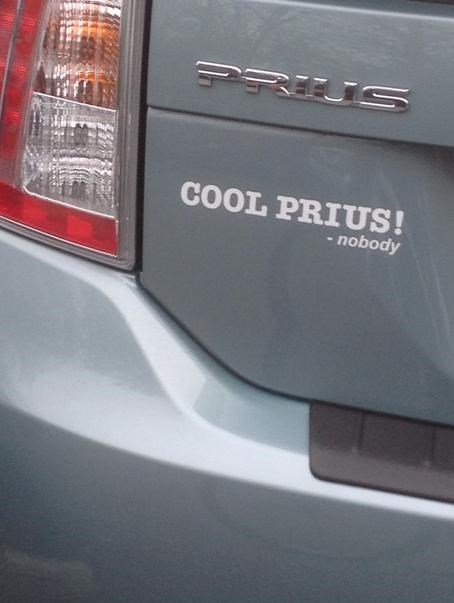 Prius bumper sticker decal cars - 8038223360