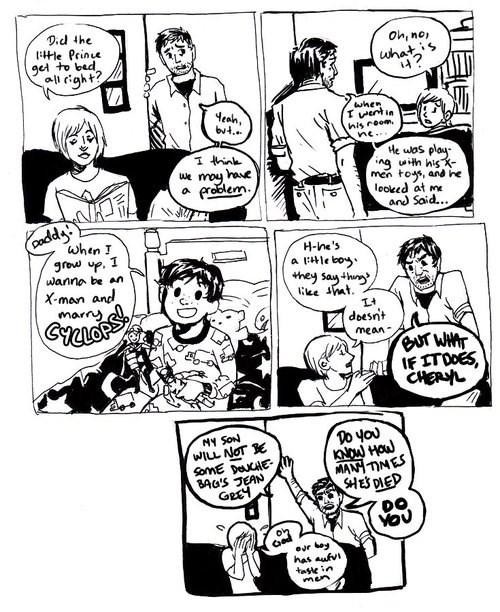 kids x men cyclops web comics
