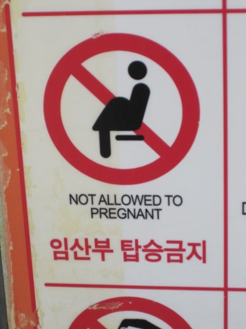 sign,engrish,pregnant