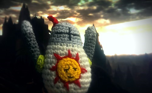 dark souls,solaire,praise the sun