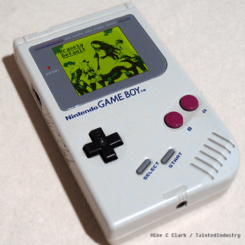 bravely default game boy demake - 8038324992