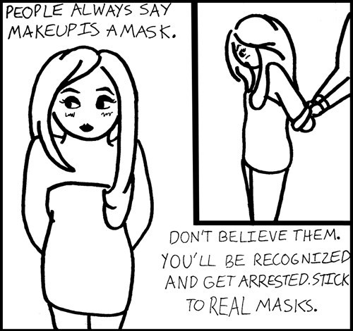 crime lifehacks masks web comics - 8038327552
