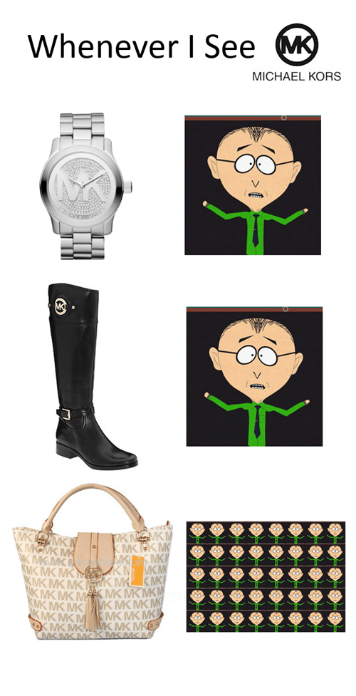 mr. mackey South Park mmmkay michael kors - 8038448896