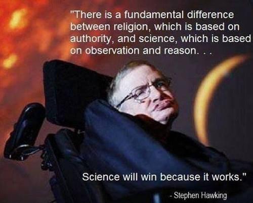 reason,science,quote,stephen hawking