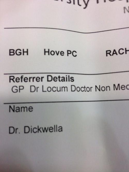 medicine,names,doctors