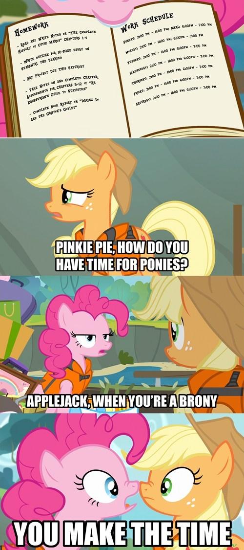 applejack brony pinkie pie - 8039057152