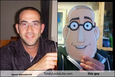 Danny Kamushevich  Totally Looks Like this guy