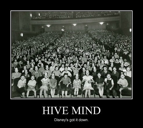 disney,mickey mouse,hive mind,creepy,funny