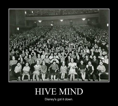 disney mickey mouse hive mind creepy funny - 8039949824