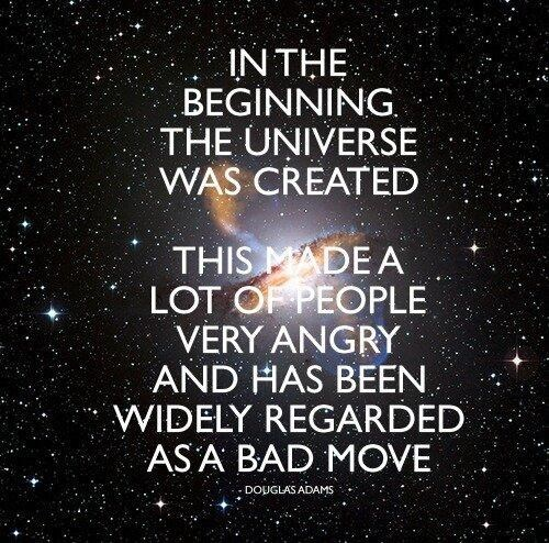 bad idea,Hitchhikers Guide To the Galaxy,funny,big bang