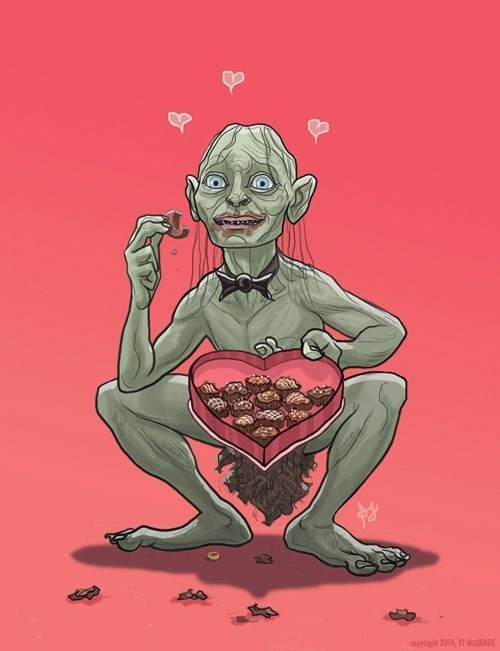 Lord of the Rings Precious gollum funny g rated dating - 8040317184