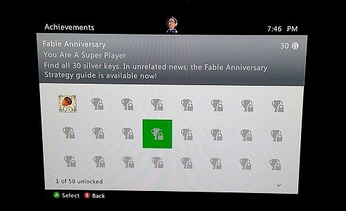 fable anniversary,fable,achievements