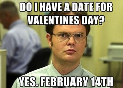 the office dwight schrute Valentines day - 8040419840