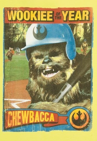 star wars chewbacca wookie baseball - 8040454912