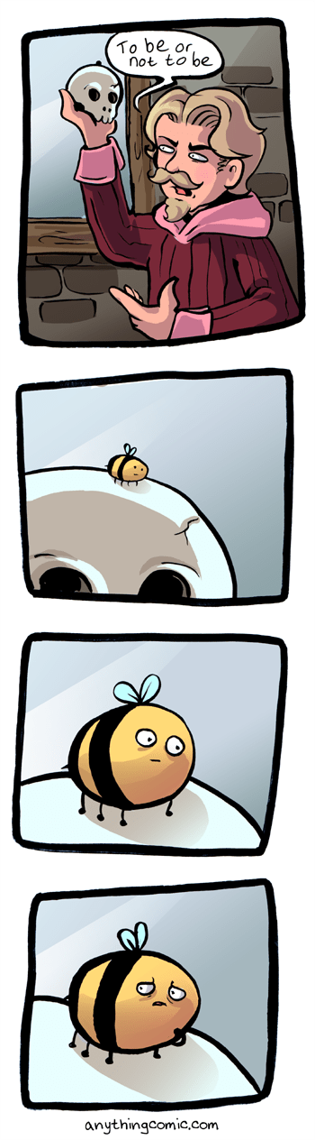 shakespeare,bees,web comics