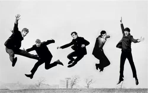 the Beatles,10th doctor,photoshop