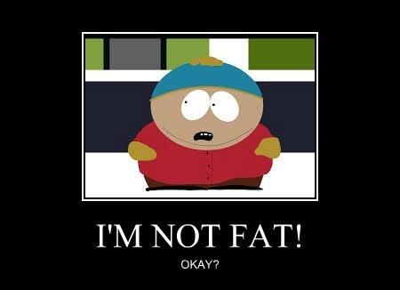 I'M NOT FAT!