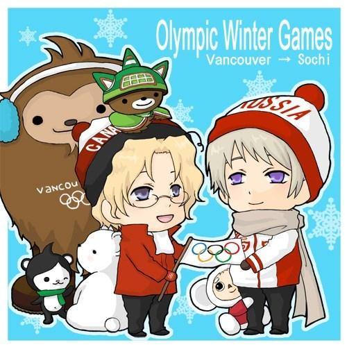 Fan Art hetalia sochi2014 olympics - 8040685312
