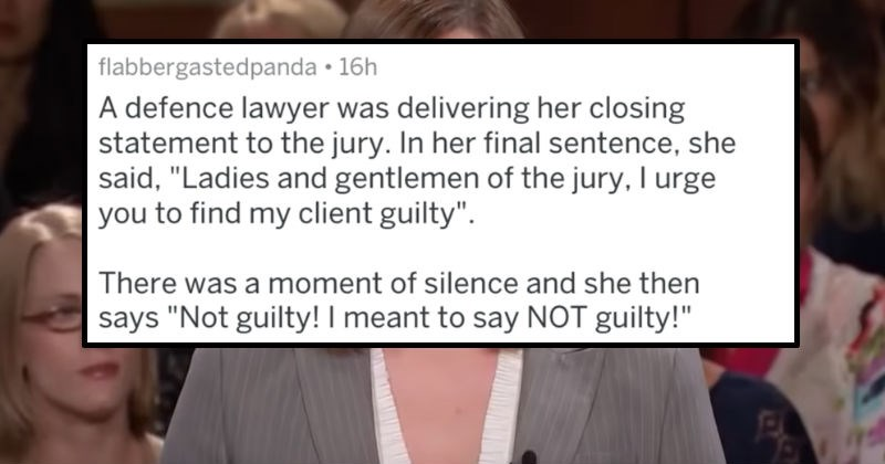 Criminally Dumb Criminal FAIL lawyer court askreddit ridiculous illegal - 8040709