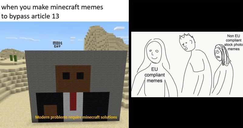 europe bootleg funny memes EU dank memes trending memes article 13 knockoff European union ripoff - 8041733