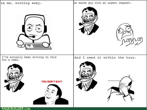 trollface,work,you dont say,facepalm,sales