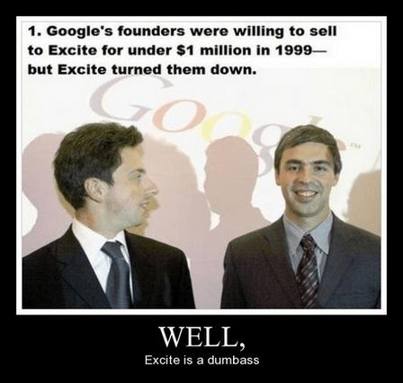 excite idiots 1999 funny google - 8042402304