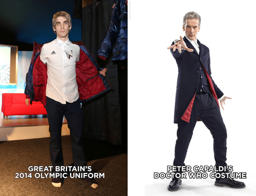costume 12th Doctor Sochi Olympics - 8042416896