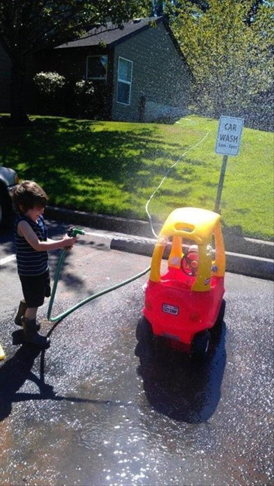 kids,car wash,parenting