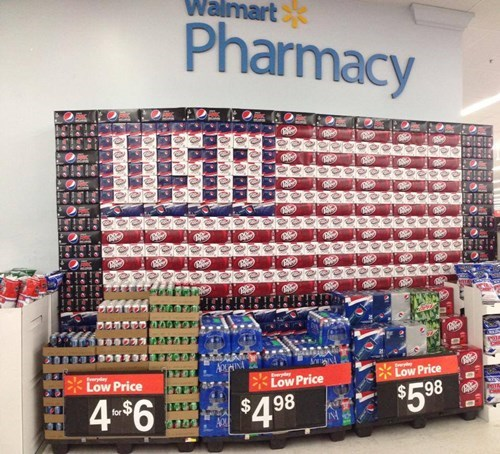 soda old glory Walmart - 8042552064