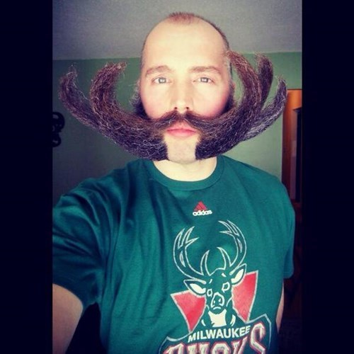 facial hair poorly dressed antlers milwaukee - 8042568960