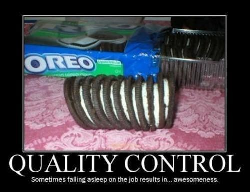 quality control you had one job oreo funny
